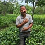 Certified plantation farmer Tenzing Bodo