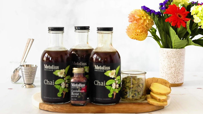 Instructional video on how to make chai tea at home.