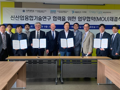 MOU with Norwegian companies in the field of global certification consulting, New Industrial Conve..