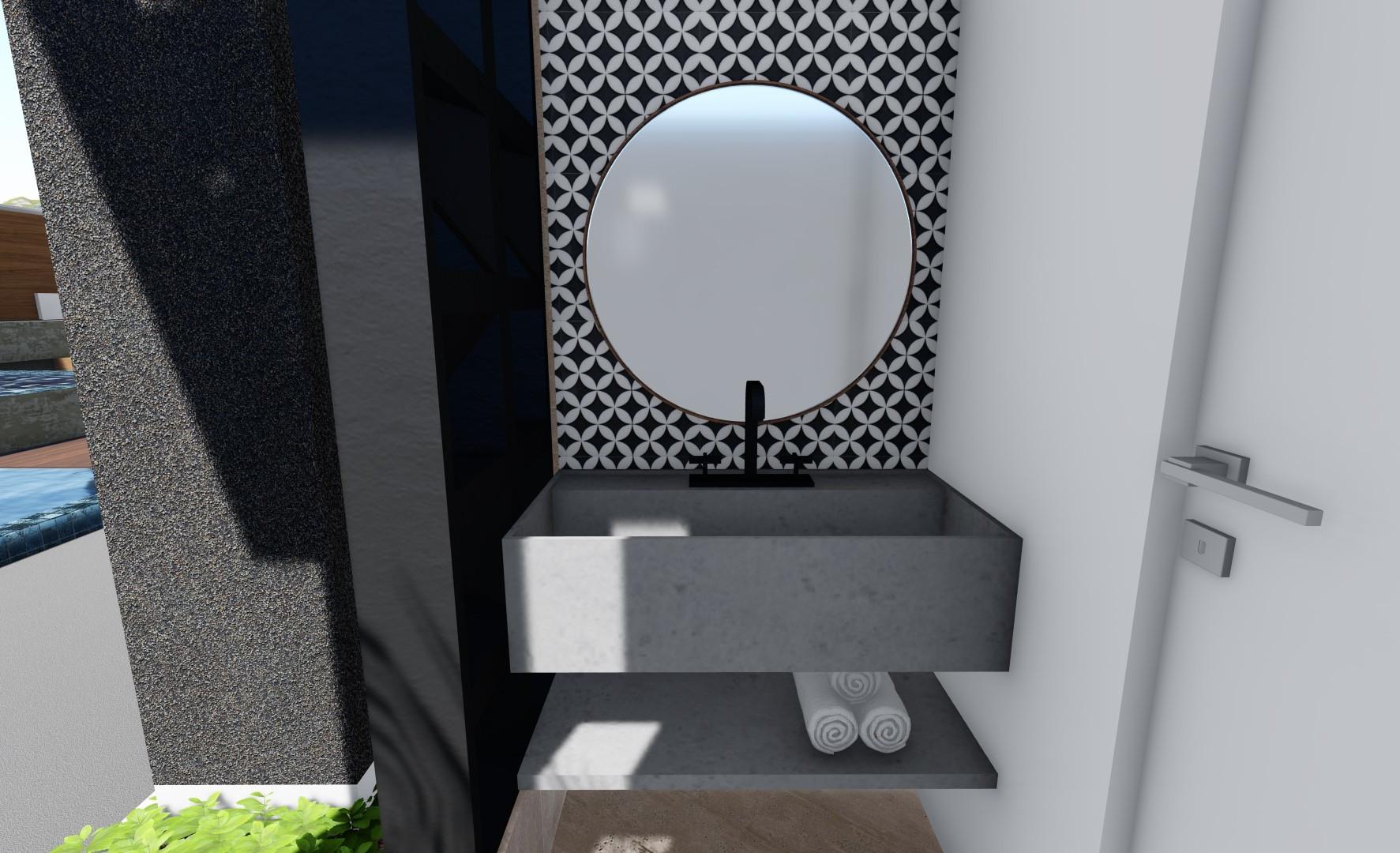 WC piscina