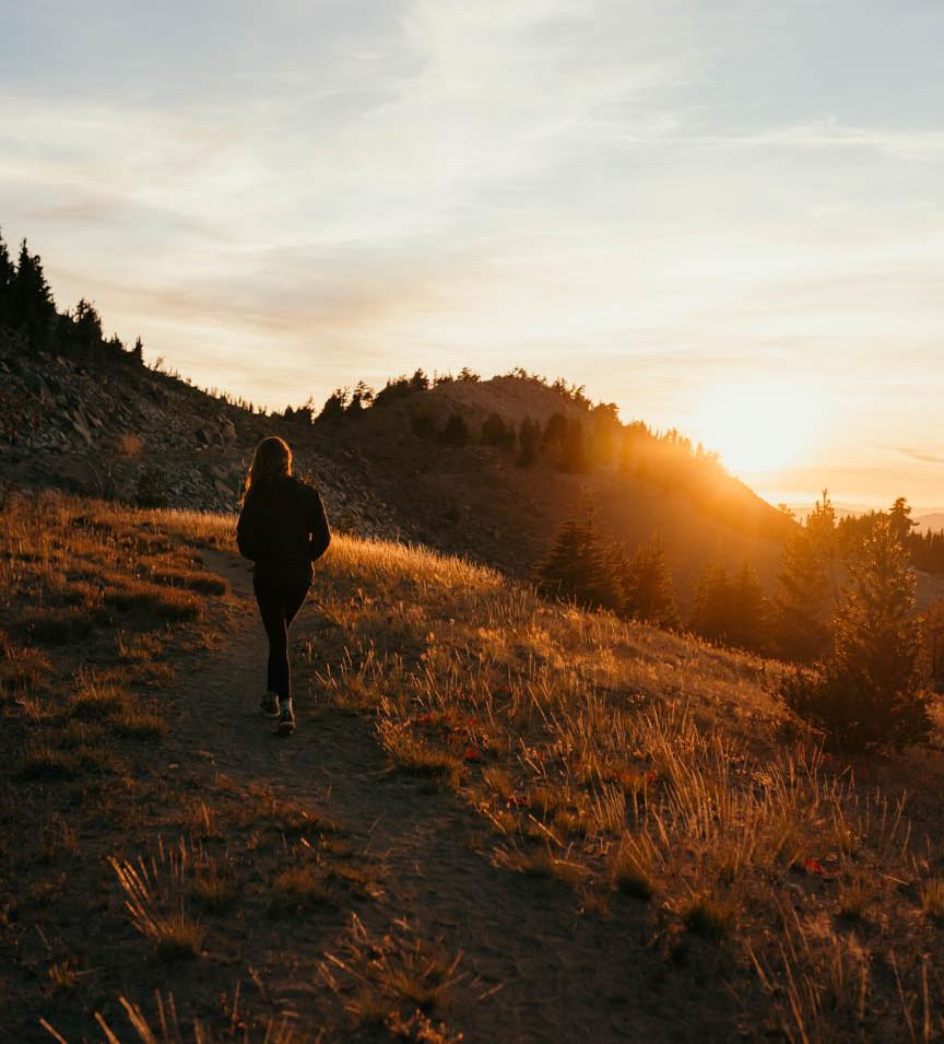 Sunset Walks, Crater Lake, Oregon