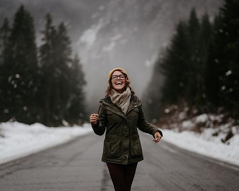 seattle photographer, kate harris, laughing