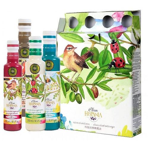 Pack aceites nature premium 4 x 250ml