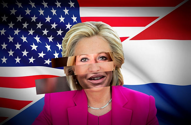 Hillary Clinton delivers her consession speech.