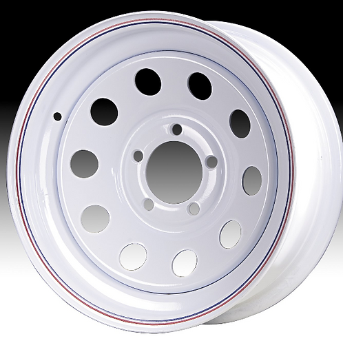 15 x 6 White Modular Wheel