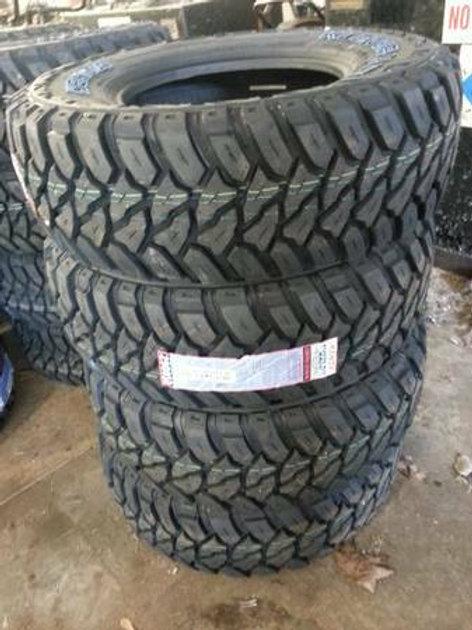 Set of 4 - LT265/75/16 NEW Kenda 10ply MUD Tires