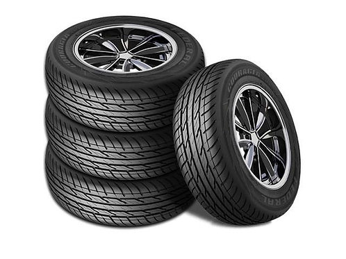 Set of 4 - LT265/75/16 NEW Federal Tires