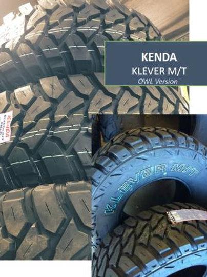 Set of 4 - 33/12.50/15LT NEW Kenda Klever M/T MUD Tires