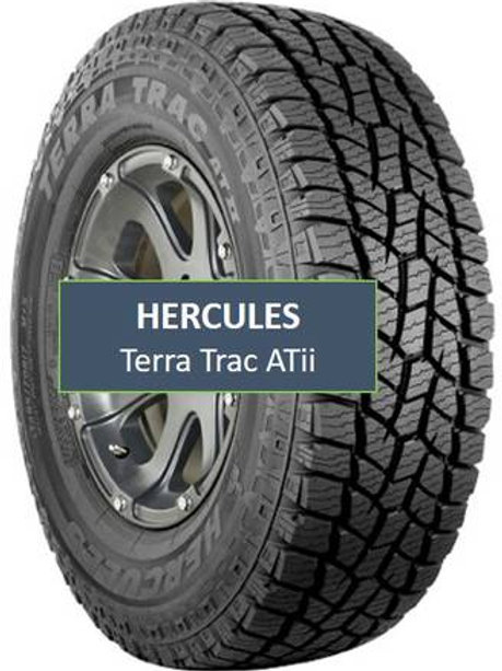 Set of 4 - 245/75/16 NEW Hercules Tires
