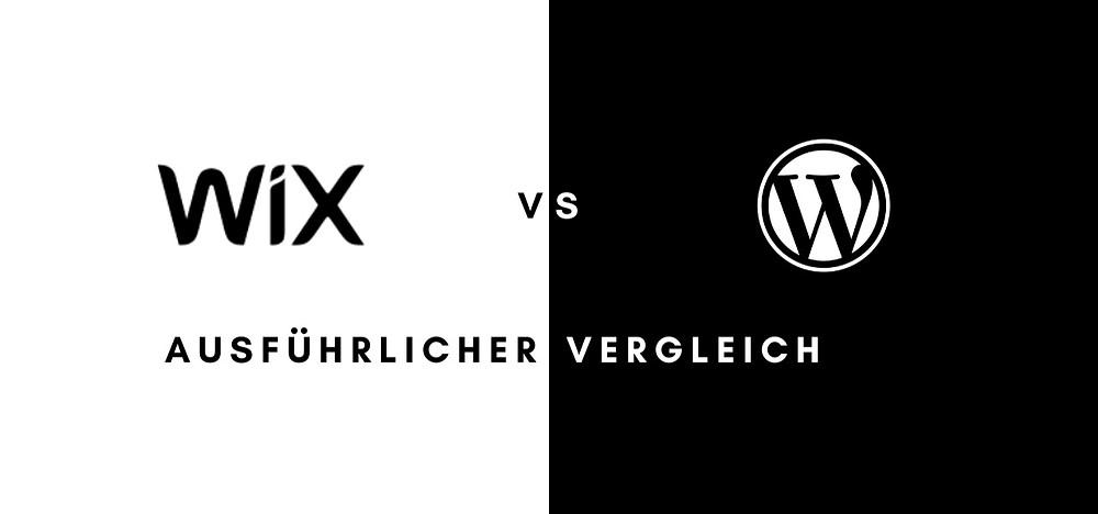wordpress vs. wix - der große vergleich