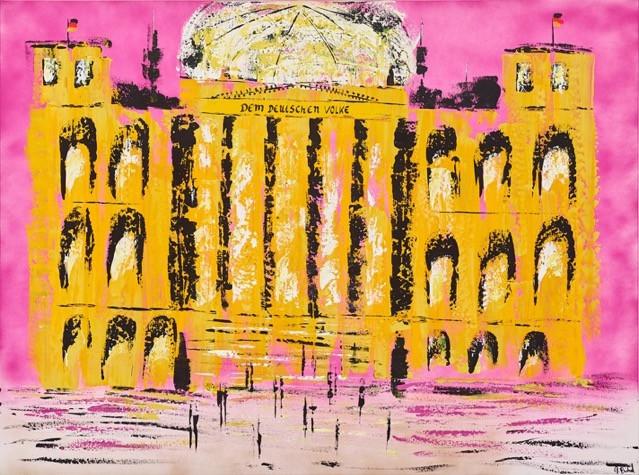 Reichstag Pink