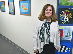 Kris Foss, managing director of Disbility Solutions, at her office in Bethel, CT