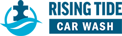 Rising Tide Car Wash Logo