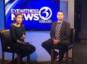 Kevin McCloskey featured on WFSB Eyewitness News 3 Connecticut