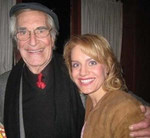 Eileen Grubba and Martin Landau