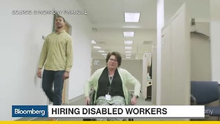 Synchrony Hiring Disabed Worker on Bloomberg TV
