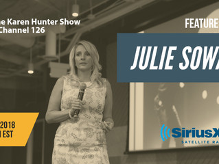 Julie Sowash, Disability Solutions Interview | SiriusXM | The Karen Hunter Show | NDEAM
