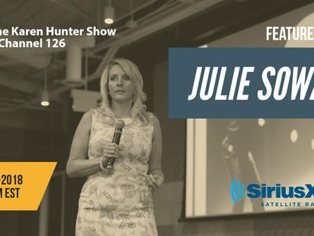 Julie Sowash, Disability Solutions Interview | SiriusXM | The Karen Hunter Show | NDEAM