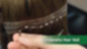 Cinderella Hair Veil Hair Extensions