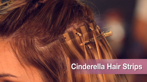 Cinderella Hair Strips Hair Extensions