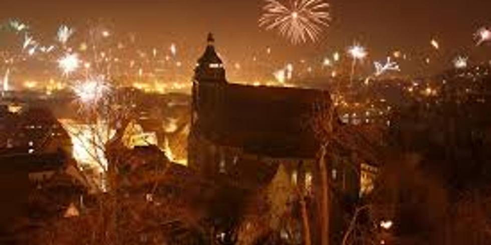 007 Silvester-Gala über den Dächern der Stadt