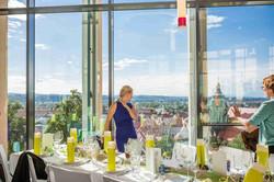 Hochzeit_Ausblick auf Stadt Pirna