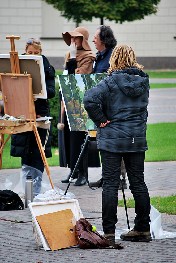 PLEIN AIR AT PRESIDENTIAL