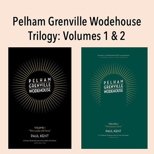 PG Wodehouse Trilogy Volumes 1 & 2 Collection