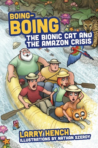 Boing-Boing the Bionic Cat and the Amazon Crisis