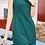 Thumbnail: Green formal all occasion sleeveless sheath dress