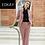 Thumbnail: Women's stripped 2-piece suits piece pants and blazer suit