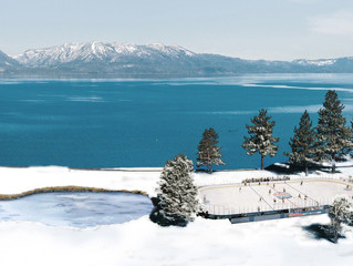 NHL Lake Tahoe event puts new twist on outdoor hockey.