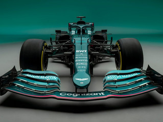 Aston Martin Cognizant Formula One Team Car Reveal