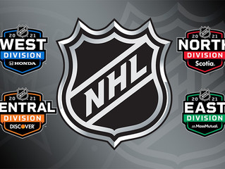 The NHL has sold division naming rights for the 2021 season