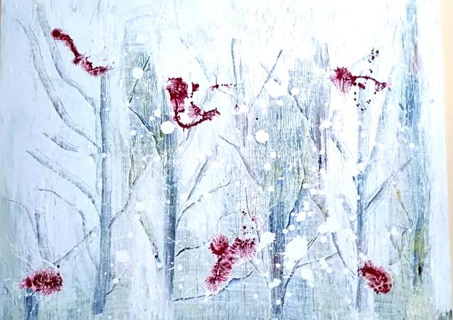 SNOWMELT_ 2017_80x100