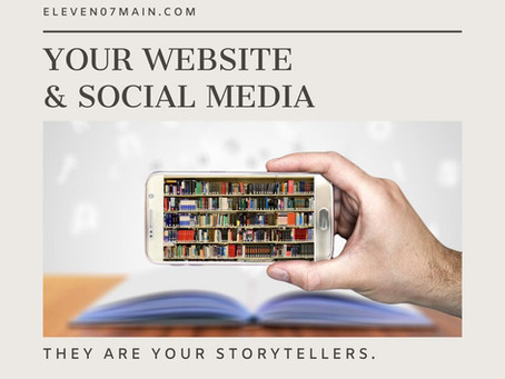 SOCIAL MEDIA & WEBSITE: YOUR INFRASTRUCTURE