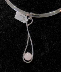 FLAT necklace & MOTIF pendant