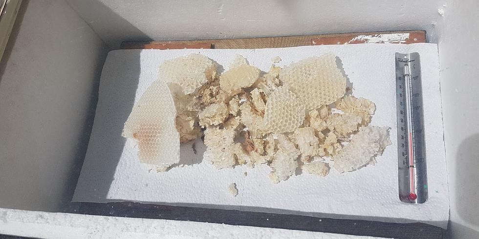 Advance bee keeping - Wax rendering workshop – Bee keeping series by Zone 0 Permaculture