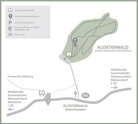 Anfahrtsskizze Harmannsdorf