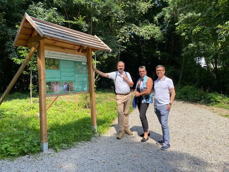 Einsegnungsdienst der Erzdiözese Wien zu Besuch im Klosterwald
