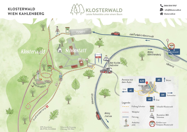 Waldkarte WKB