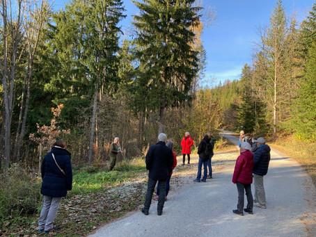 Die ersten Waldführungstermine für 2021 sind da.