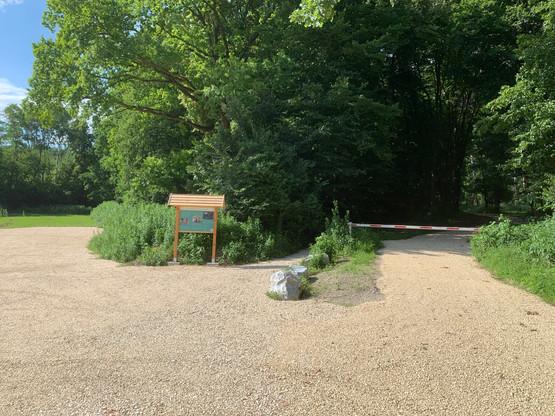 Harmannsdorf Rohrwald Parkplatz