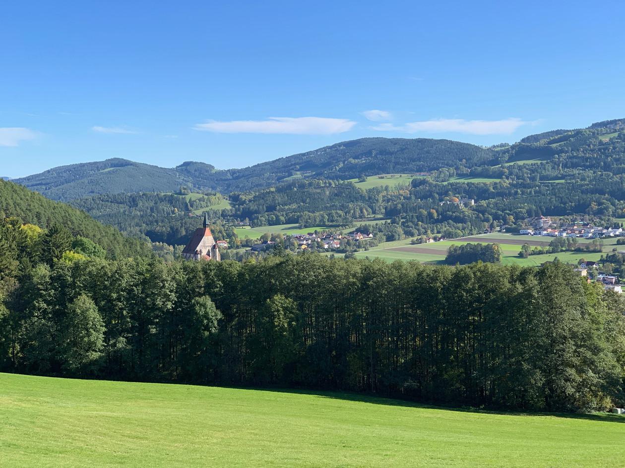 Kirchberg Ausblick