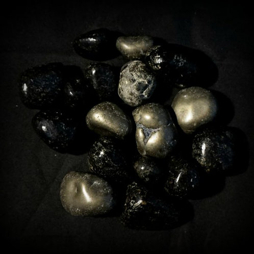 Black Pyrite (Tumbled)