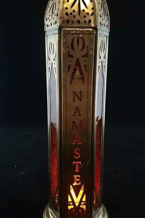 Namaste Candle Lantern