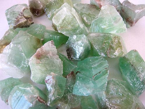 Green Calcite (Raw)