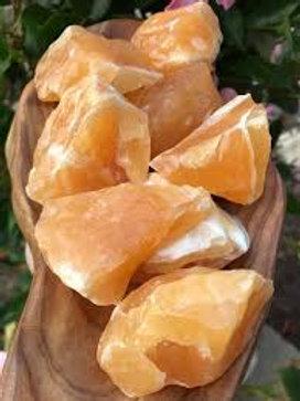 Orange Calcite (Raw)