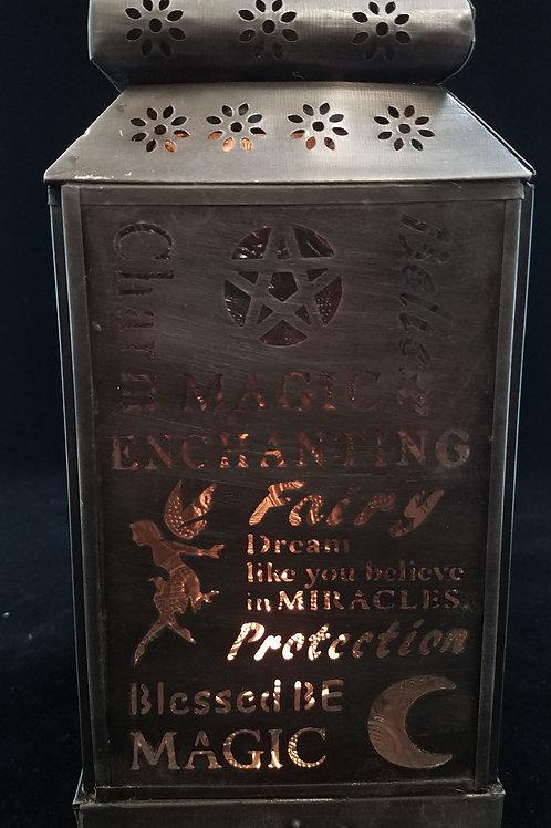 Silver Fairy Candle Lantern