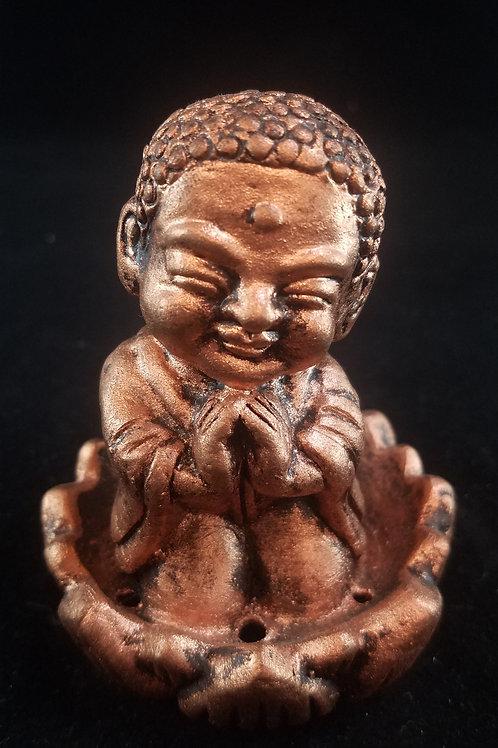 Buddha & Lotus Incense Holder